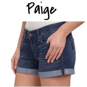PAIGE Jimmy Jimmy Short Denim Jean Shorts!